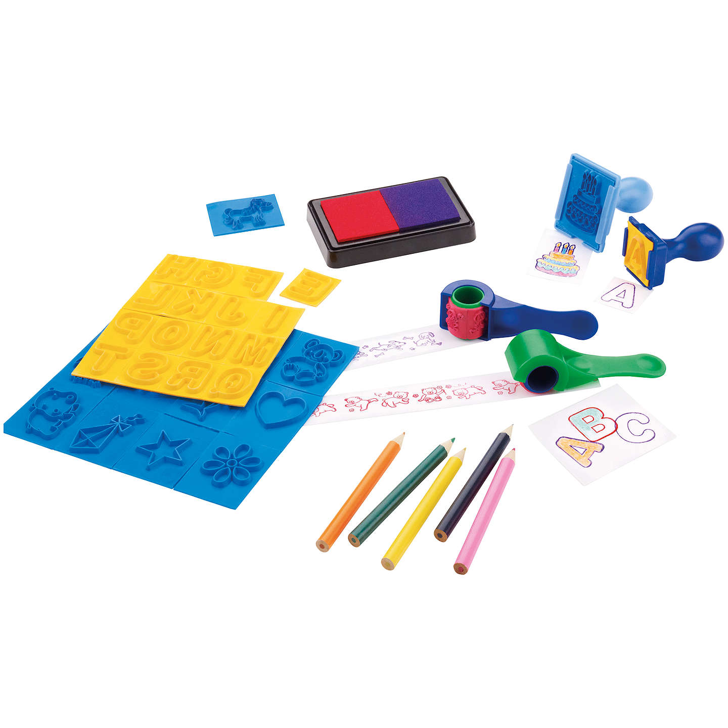 BuyJohn Lewis Mega Stamp Set Online at johnlewis.com