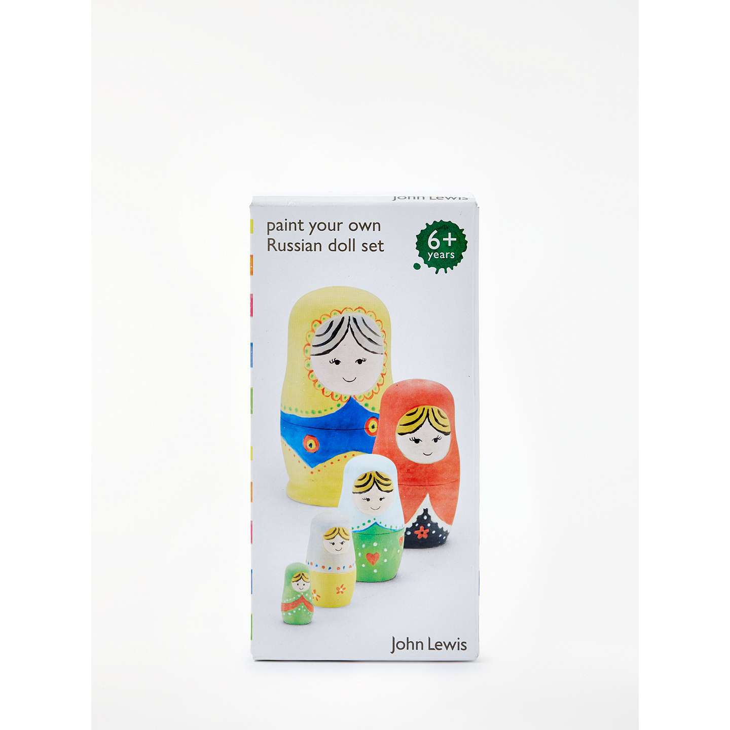 BuyJohn Lewis Paint A Russian Doll Kit Online at johnlewis.com