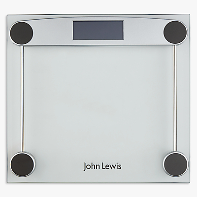 John Lewis & Partners Digital Glass Bathroom Scale