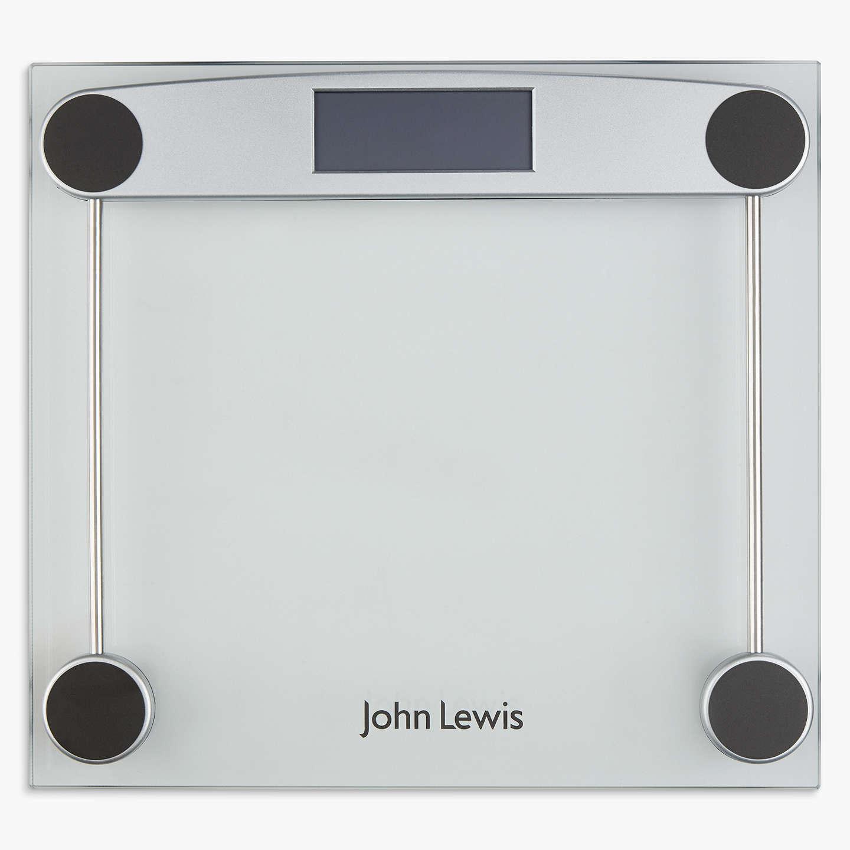 John Lewis Digital Glass Bathroom Scale at John Lewis