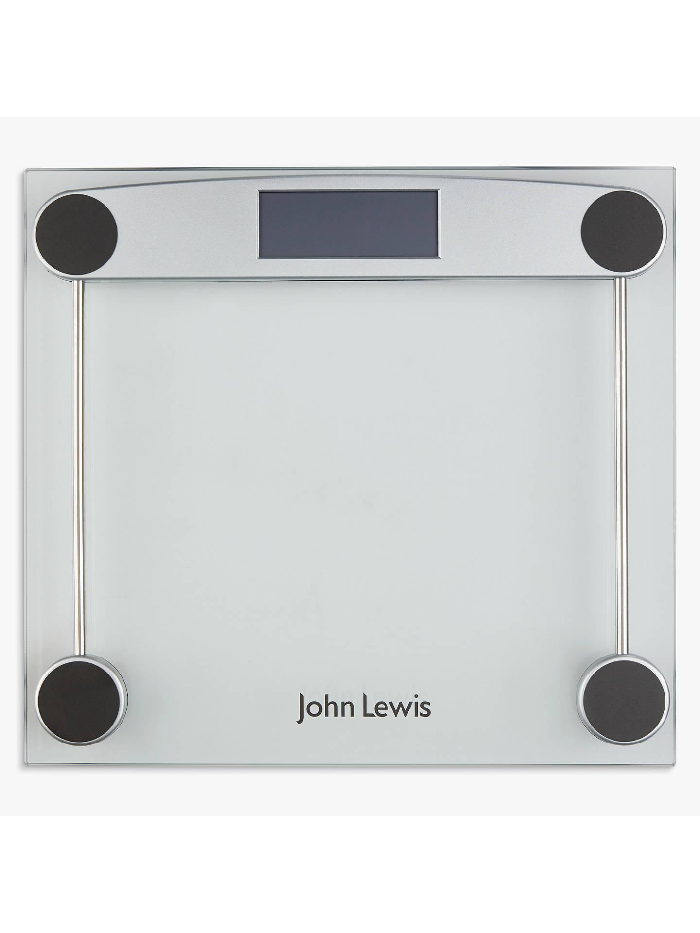 John Lewis Partners Digital Glass Bathroom Scale At John Lewis Partners