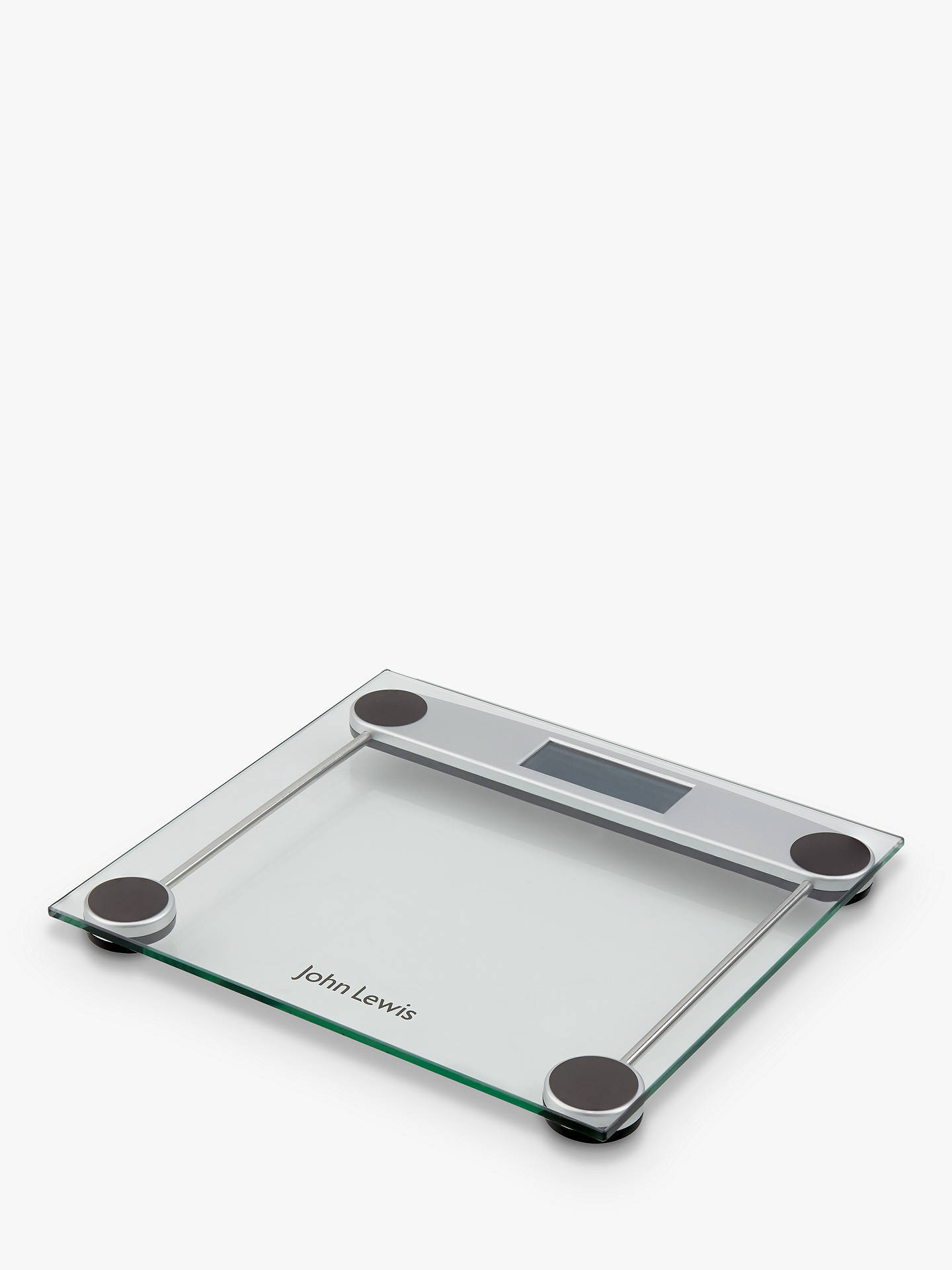 BuyJohn Lewis & Partners Digital Glass Bathroom Scale Online at johnlewis.com