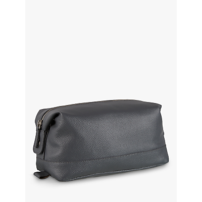 Croft Collection Leather Wash Bag