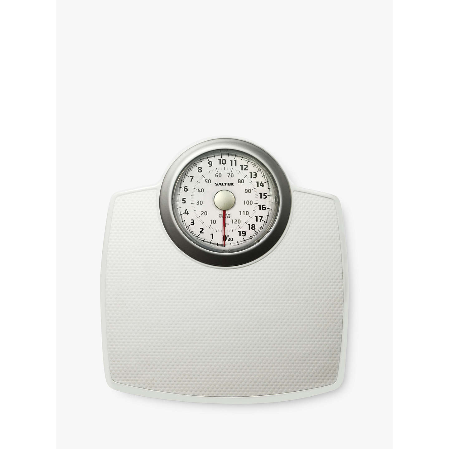 Salter Clic Mechanical Bathroom Scale Online At Johnlewis