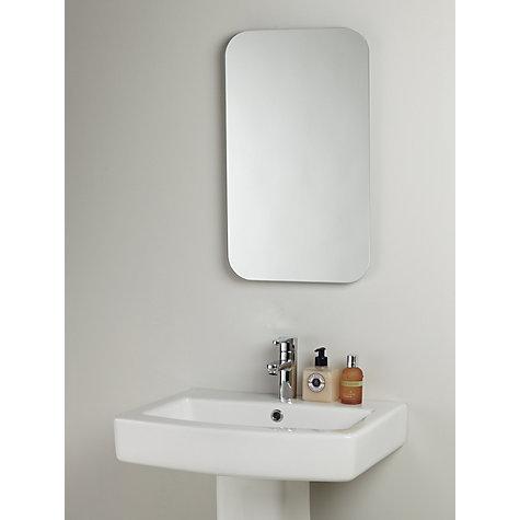 Bathroom Sinks John Lewis buy john lewis flow bathroom wall mirror | john lewis