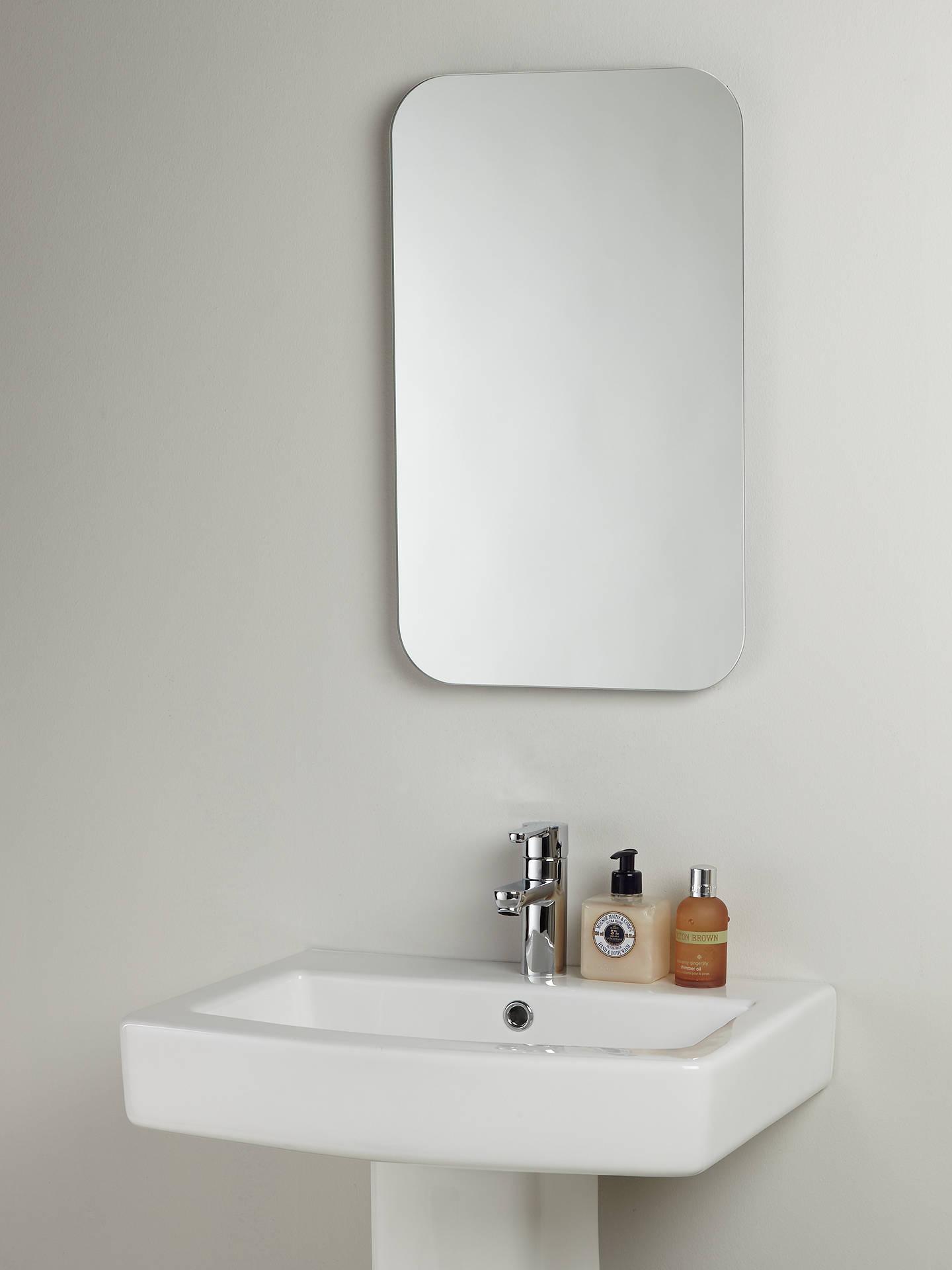 John Lewis & Partners Flow Bathroom Wall Mirror at John Lewis & Partners