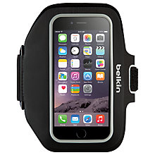 Buy Belkin Sport-Fit Armband for iPhone 6 Plus, Black Online at johnlewis.com