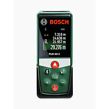 Buy Bosch PLR 40 C Range Finder Online at johnlewis.com
