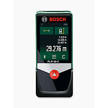 Buy Bosch PLR 50 C Range Finder Online at johnlewis.com