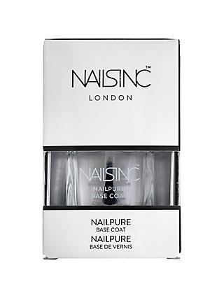 Nails Inc Nailpure Base Coat, 14ml