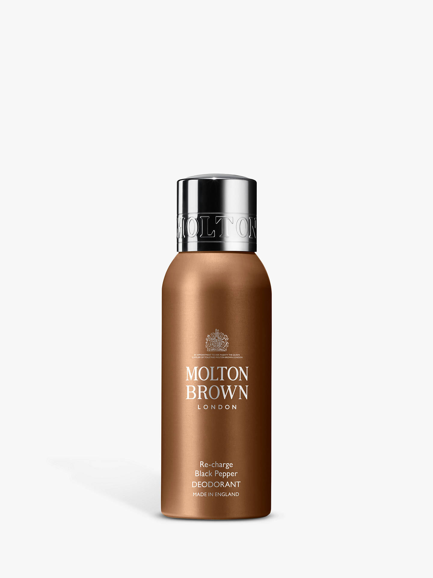 Buy Molton Brown Mens Re-charge Black Pepper Deodorant, 150ml Online at johnlewis.com