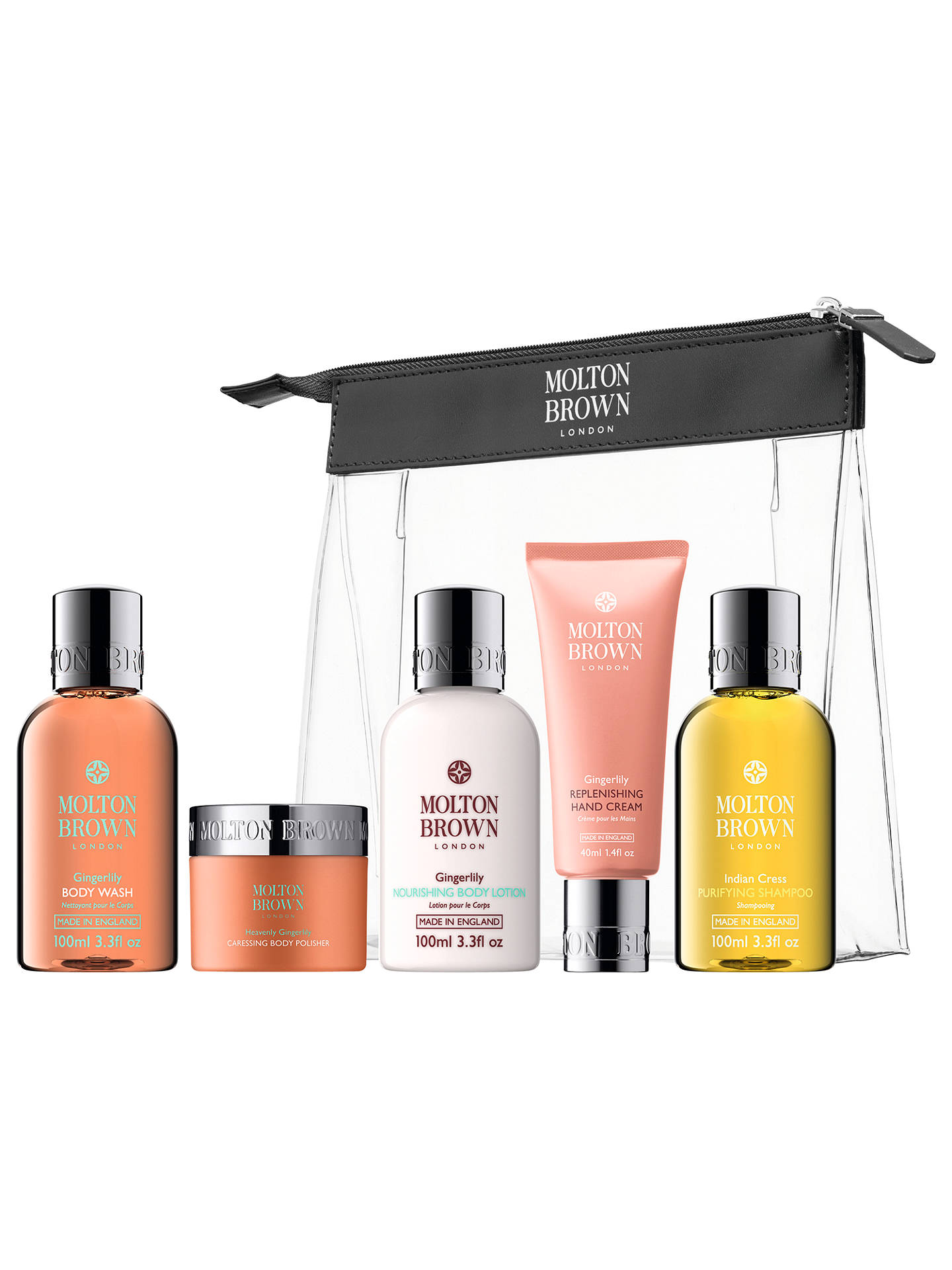 Buy Molton Brown Ladies' Carry-on Bodycare Gift Set Online at johnlewis.com
