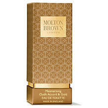 Buy Molton Brown Mesmerising Oudh Accord & Gold Eau De Toilette, 50ml Online at johnlewis.com