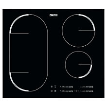 Buy Zanussi ZEM6740FBA Induction Hob, Black Online at johnlewis.com