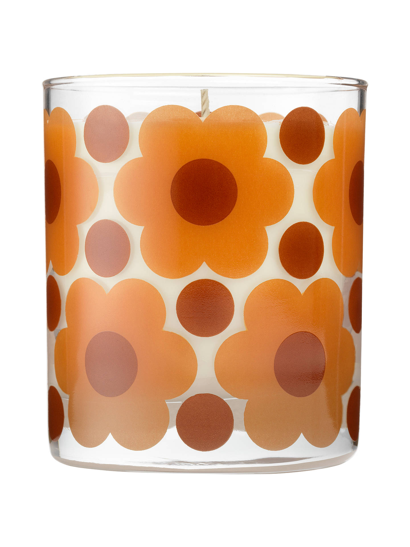 Buy Orla Kiely Orange Rind Scented Candle, 200g Online at johnlewis.com