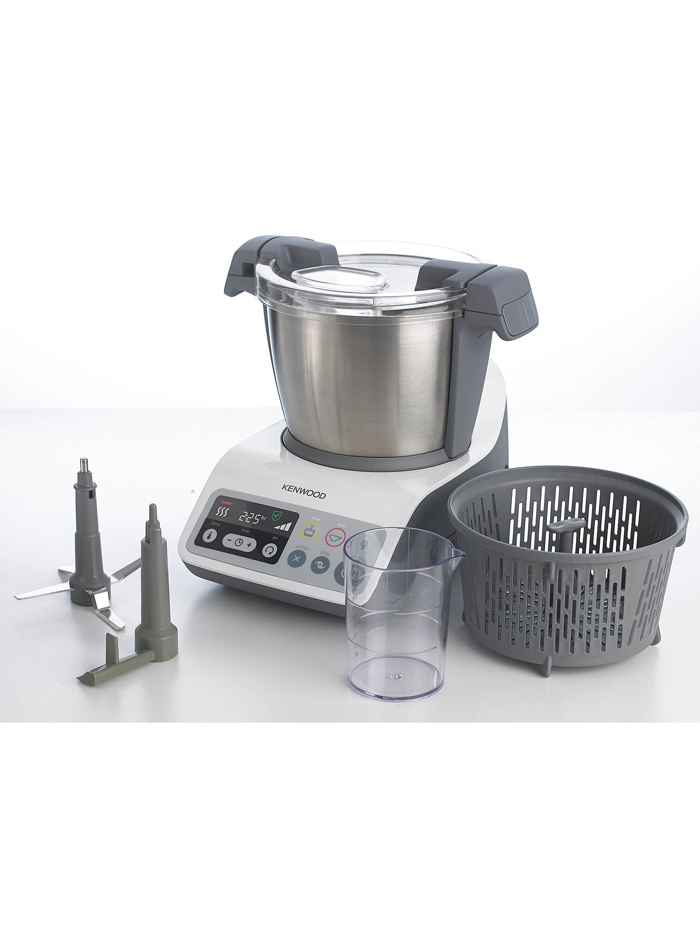 Kenwood Ccc200wh Kcook Food Processor White At John Lewis Partners
