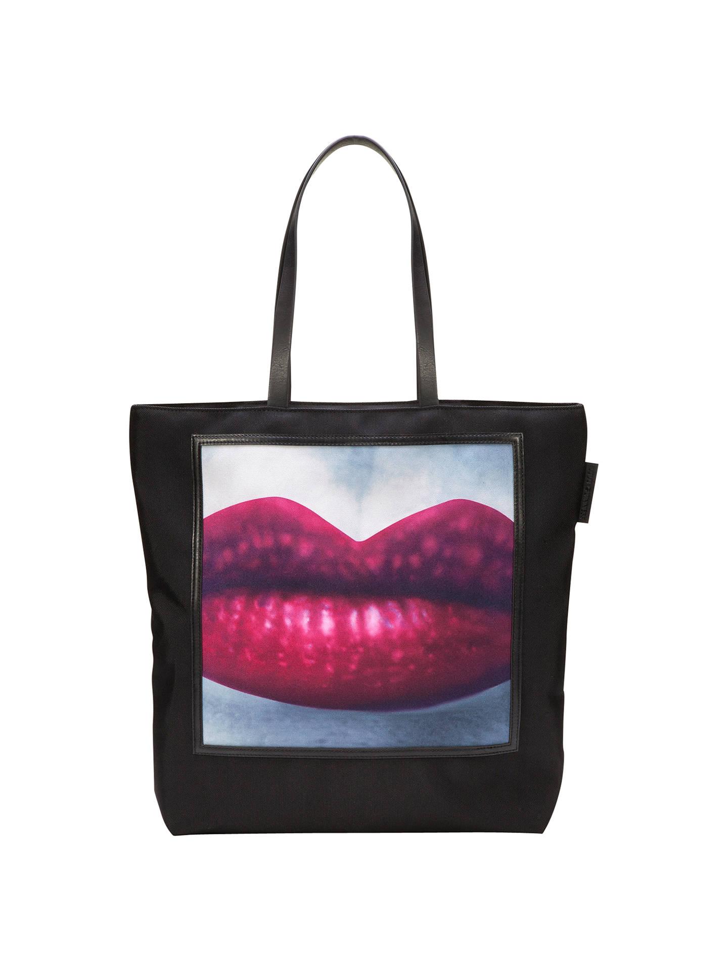 Lulu Guinness Lucy Medium Lipstick Tote Bag at John Lewis   Partners f3aba35137e35