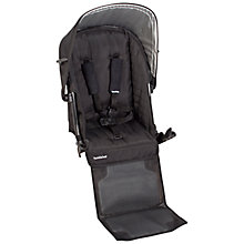Buy Uppababy Rumble Vista 2014 Second Seat, Black Online at johnlewis.com