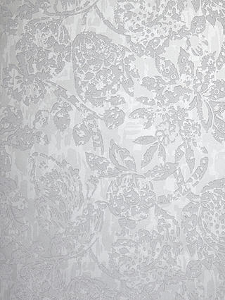 Buy Prestigious Textiles Azule Wallpaper, Platinum, 1638/924 Online at johnlewis.com