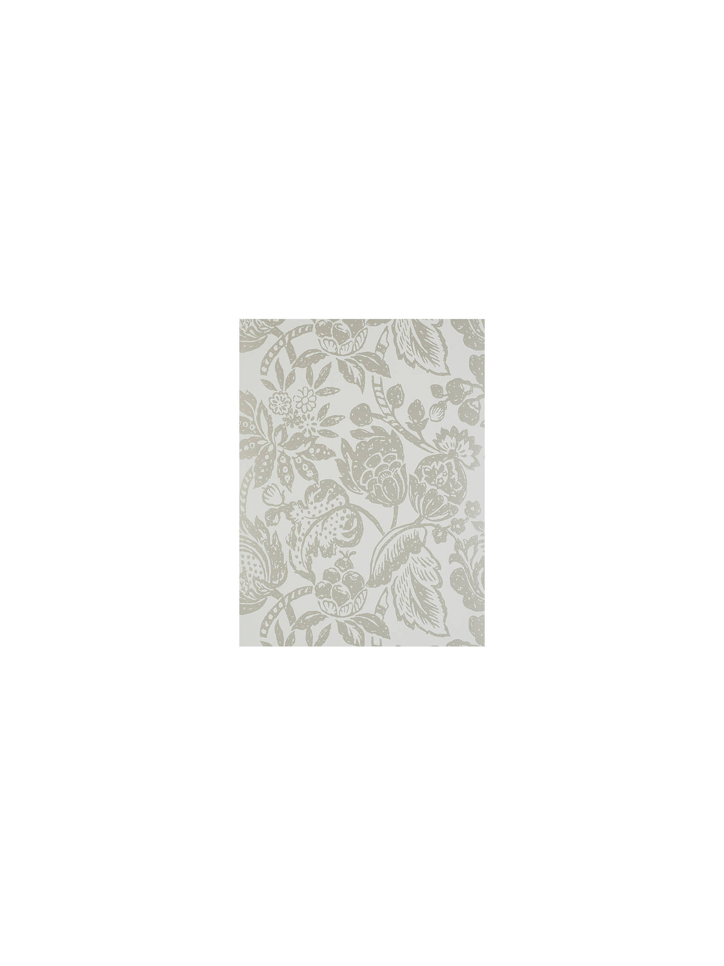 BuyPrestigious Textiles Saphir Wallpaper, Ivory, 1644/007 Online at johnlewis.com