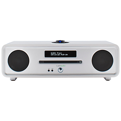 Image of Ruark R4 MK3 DAB/DAB+/FM Radio & CD Bluetooth All-In-One Music System with OLED Display