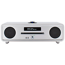 Buy Ruark R4 MK3 DAB/DAB+/FM Radio & CD Bluetooth All-In-One Music System with OLED Display Online at johnlewis.com