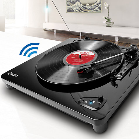 Buy Ion Air Lp Usb Turntable With Bluetooth John Lewis