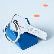 Buy Merci Maman Personalised Stainless Steel 16GB USB Drive, Silver Online at johnlewis.com