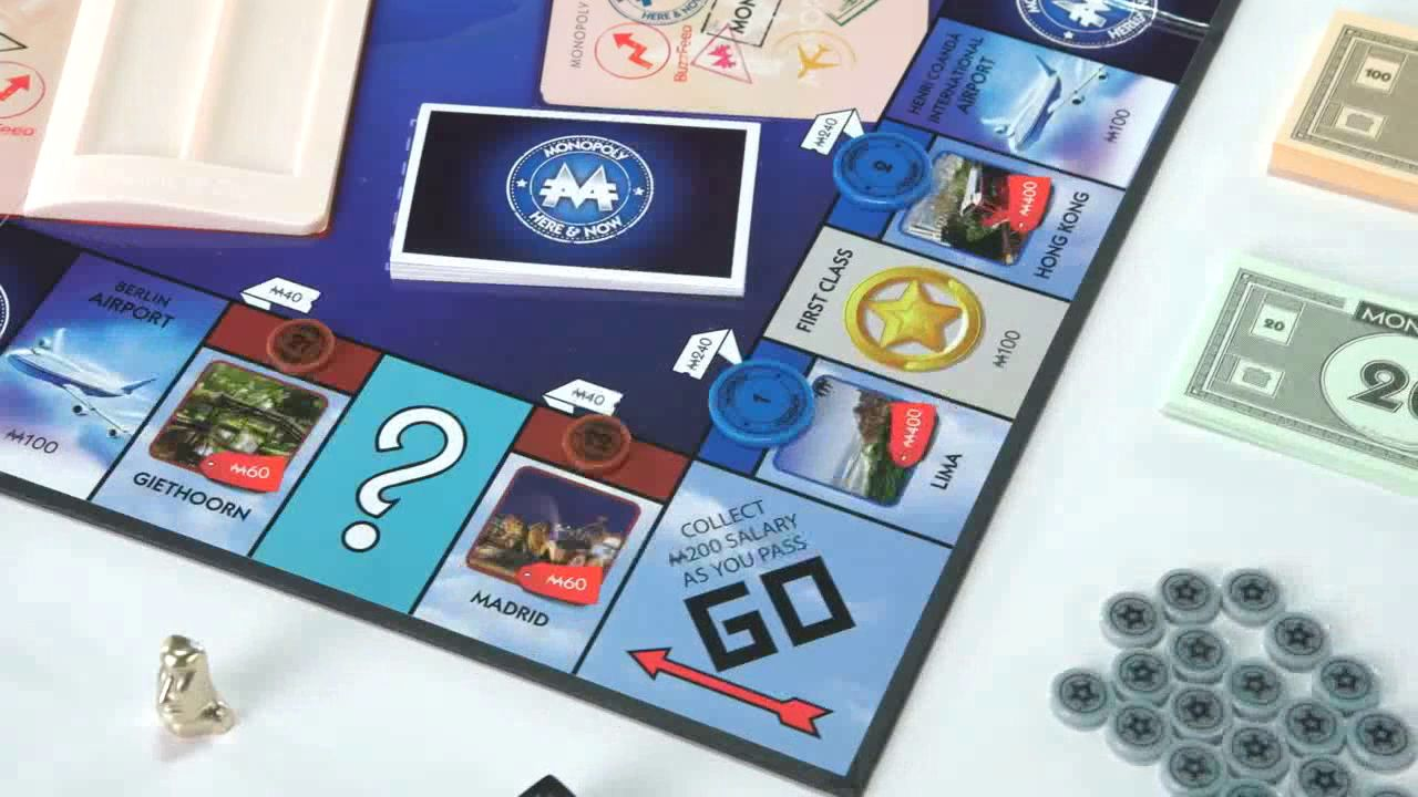Monopoly Here & Now World Edition at John Lewis & Partners