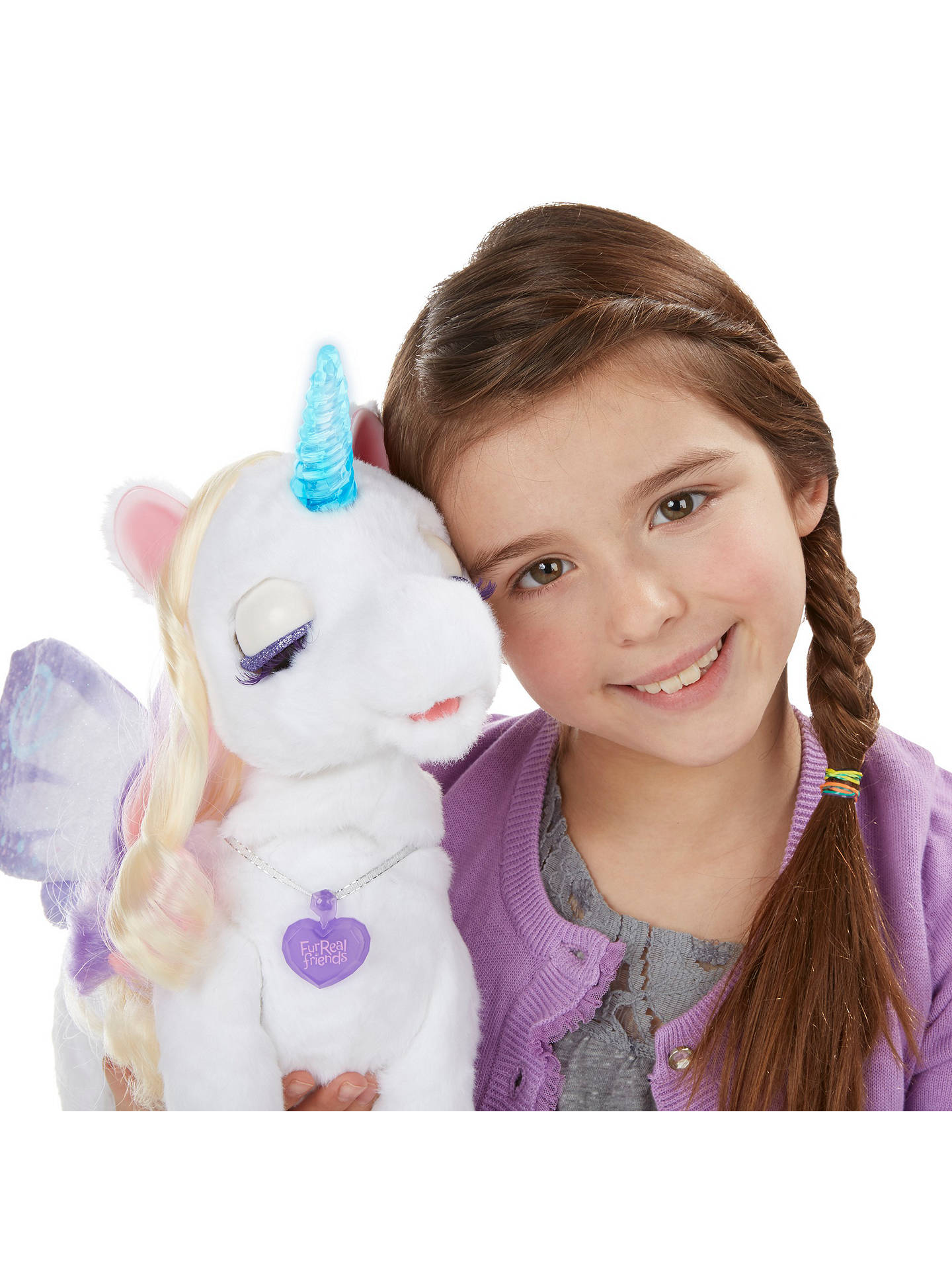 BuyFurReal Friends StarLily My Magical Unicorn Pet Online at johnlewis.com