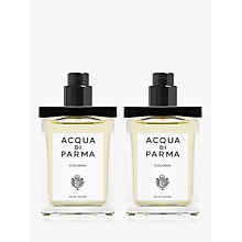 Buy Acqua di Parma Colonia Travel Spray Refill, 2 x 30ml Online at johnlewis.com