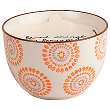 Buy Paddywax Boheme Large Blood Orange and Bergamot Scented Candle Online at johnlewis.com