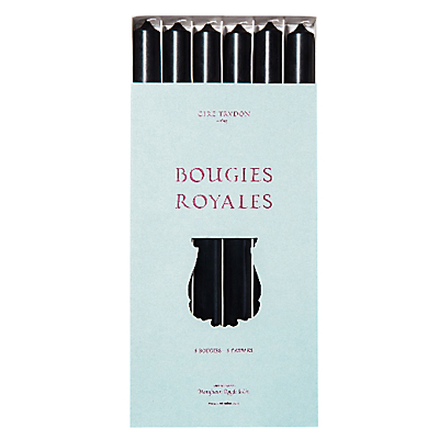 Cire Trudon Royale Tapered Dinner Candles, Set of 6