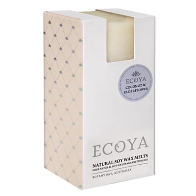 Ecoya Soy Melts, Coconut and Elderflower