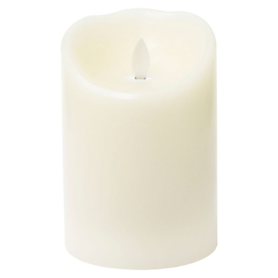 Mirage LED Wax Pillar Candle, H13.5 x Dia.9.5cm