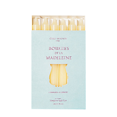 Cire Trudon Madeleine Tapered Dinner Candles, Set of 6