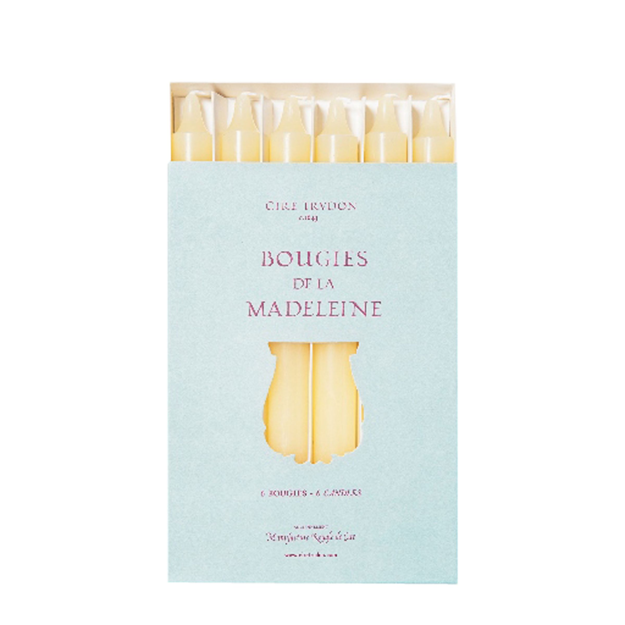 Cire Trudon Cire Trudon Madeleine Tapered Dinner Candles, Set of 6