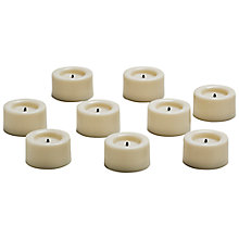 Buy LED Mini Tealights, Pack of 9 Online at johnlewis.com