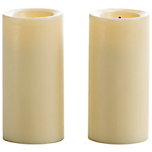 Buy Mirage Wax LED Votive Candles, Pack of 2 Online at johnlewis.com