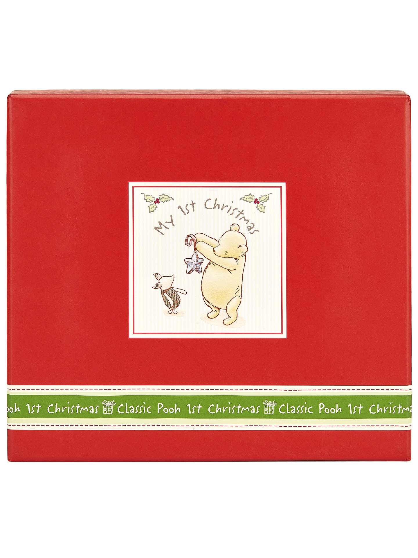 winnie the pooh my first christmas photo album at john lewis