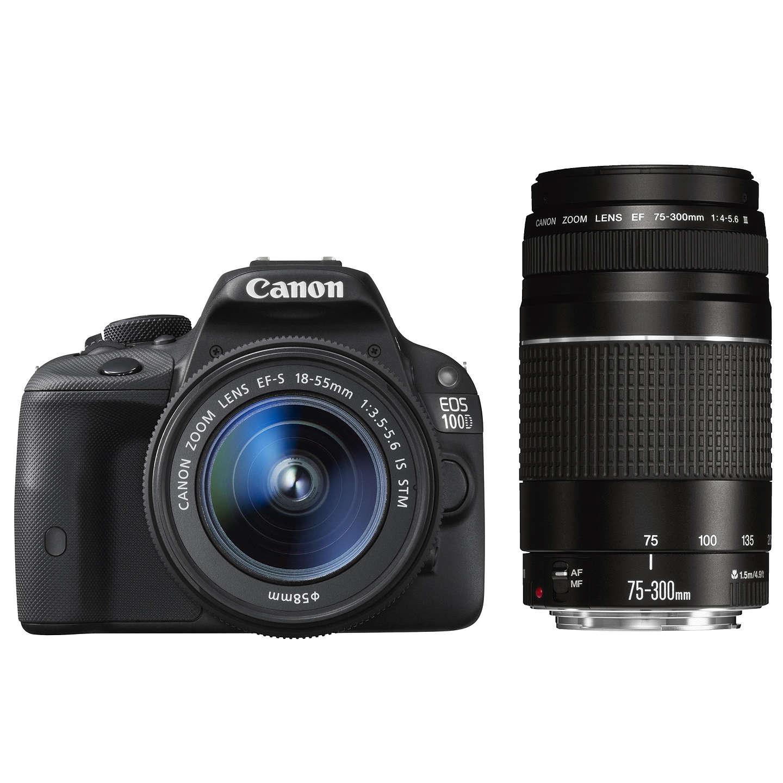 canon eos 100d digital slr camera with ef s 18 55mm f 3 5. Black Bedroom Furniture Sets. Home Design Ideas