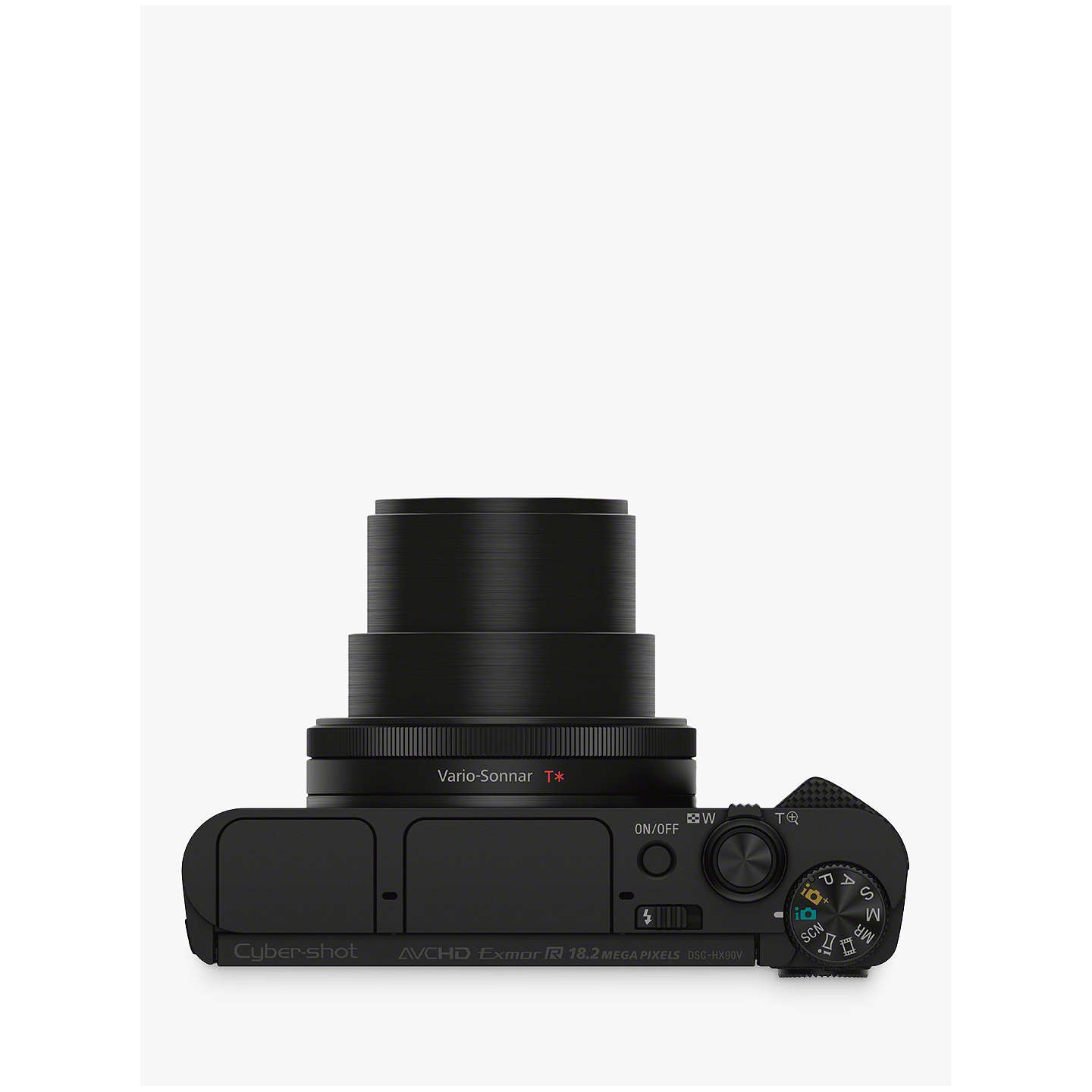 "BuySony Cyber-Shot DSC-HX90 Camera, HD 1080p, 18.2 MP, 30x Optical Zoom, Wi-Fi, NFC, OLED EVF, 3"" Tilting Screen Online at johnlewis.com"