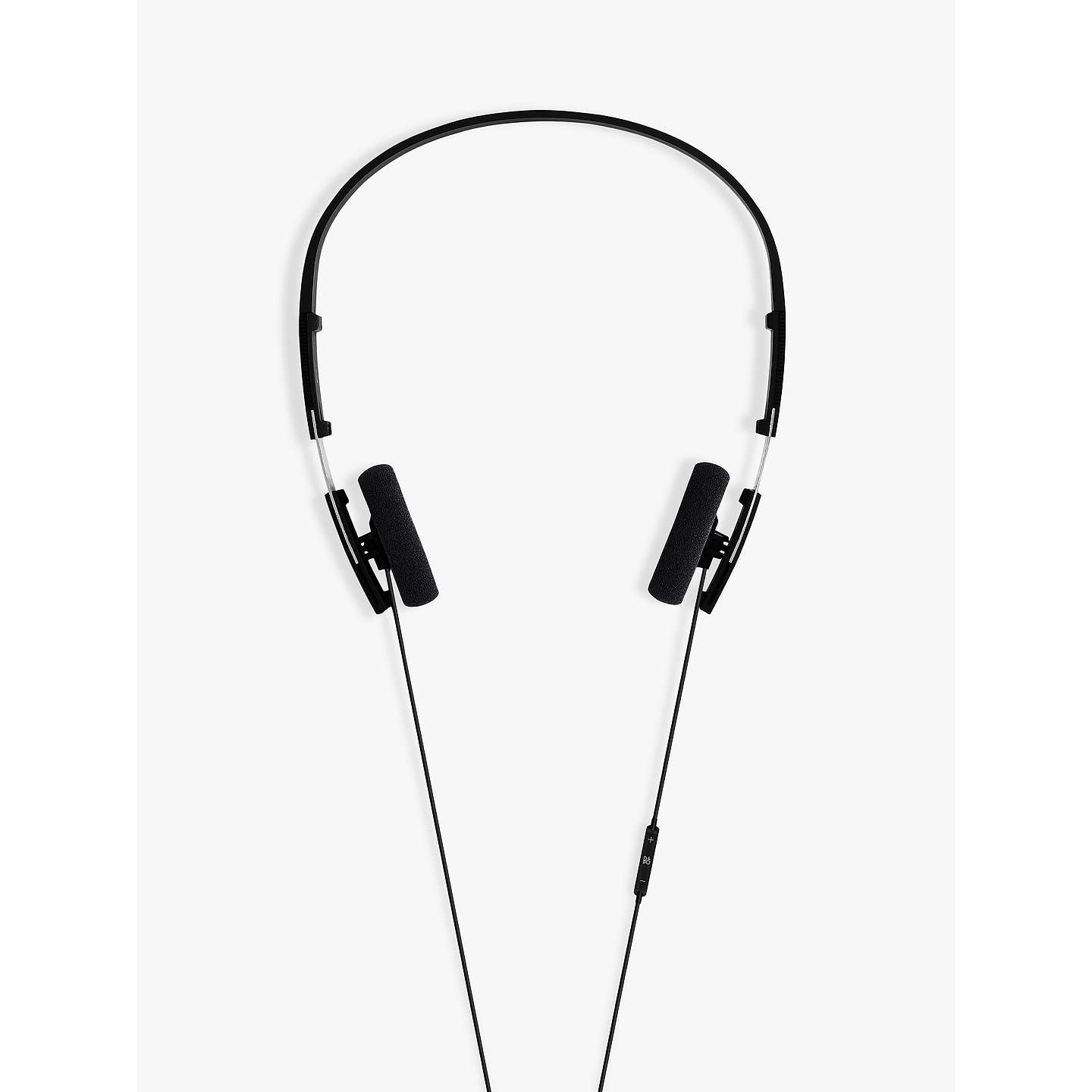 BuyB&O PLAY by Bang & Olufsen Beoplay Form 2i On-Ear Headphones with Mic/Remote, Black Online at johnlewis.com
