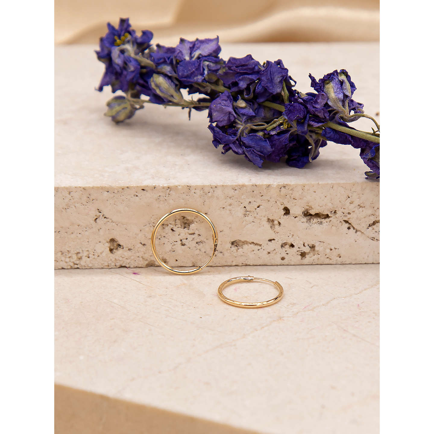 online hoop yellow gold twist earrings en jewellery