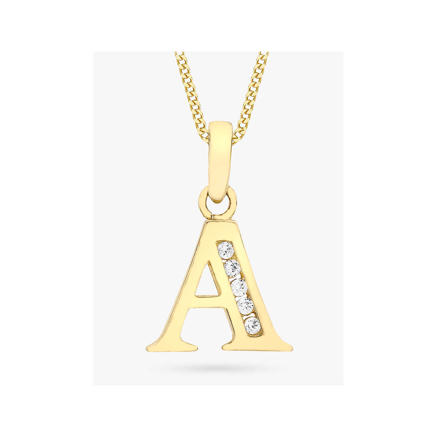 initial in main pendant pdp cable with white women charm necklace diamonds gold products collections collectible