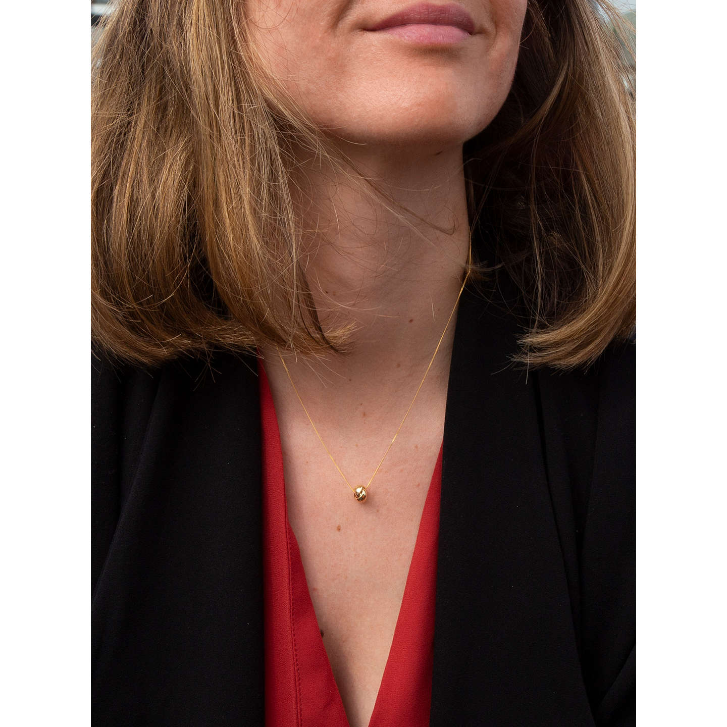 Ibb 9ct gold knot pendant yellow gold at john lewis buyibb 9ct gold knot pendant yellow gold online at johnlewis aloadofball Choice Image
