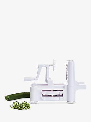 Kitchen Craft Vegetable Spiralizer, Spiral Slicer, 3 Stainless Steel Blades