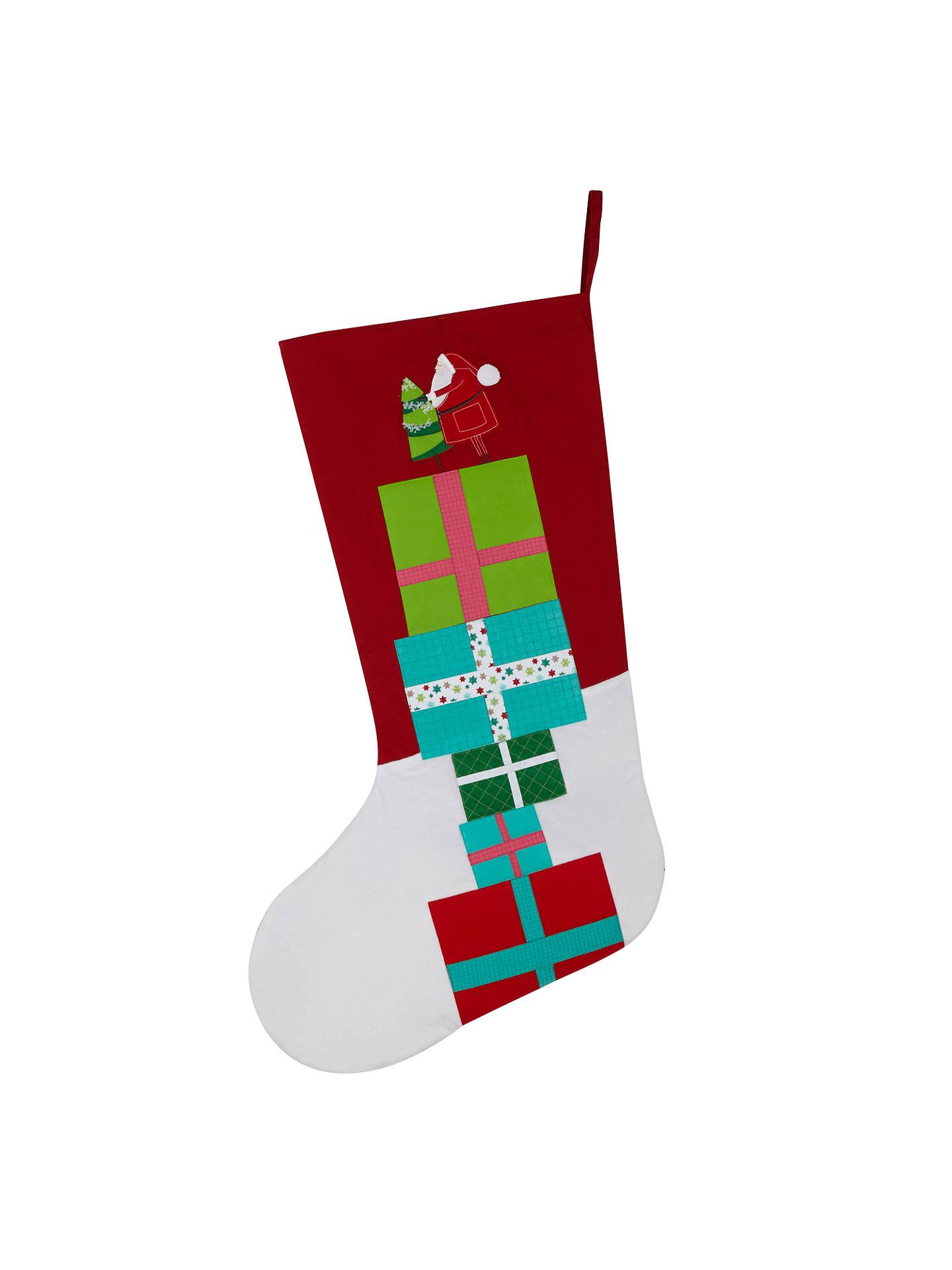 buyjohn lewis santa presents giant christmas stocking online at johnlewis - Giant Christmas Stocking
