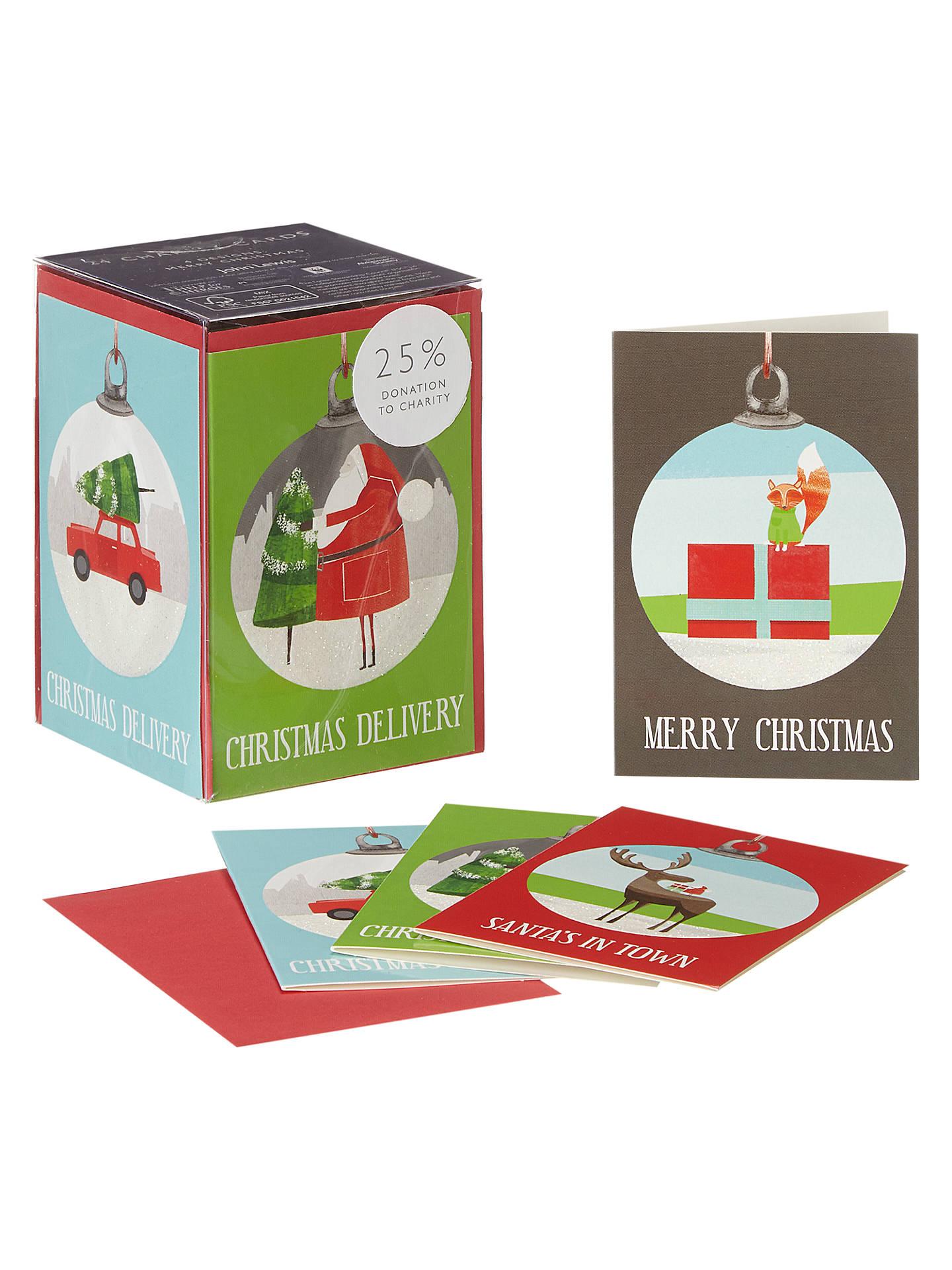 John Lewis Mini Bauble Buddies Charity Christmas Cards Box, Set of ...