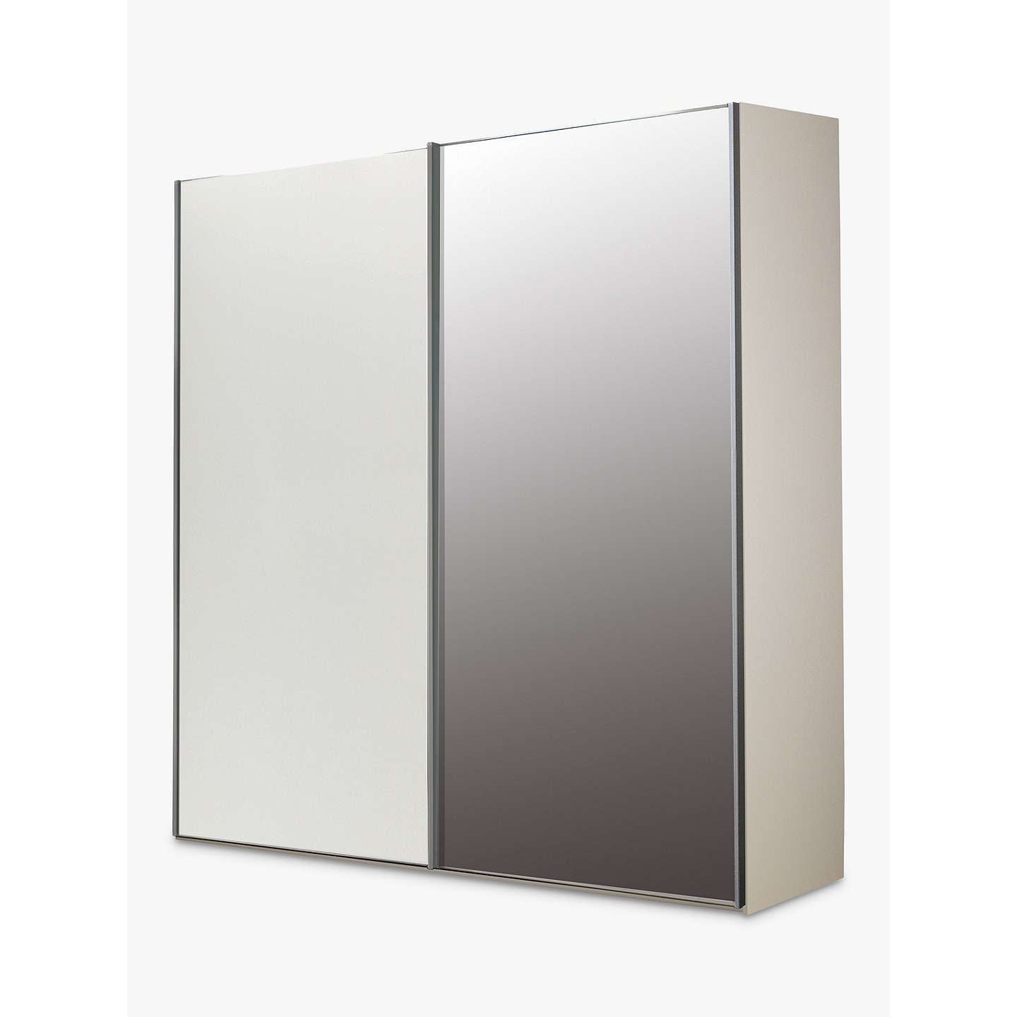 Buyjohn Lewis Special Elstra 200Cm Mirrored Sliding Door Wardrobe, Mirroralpine